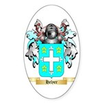 Helyer Sticker (Oval 50 pk)