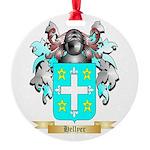 Hellyer Round Ornament