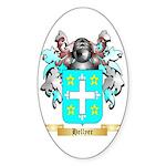 Hellyer Sticker (Oval 10 pk)