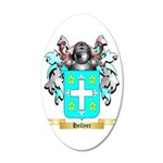 Hellyer 35x21 Oval Wall Decal