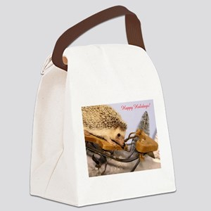 Pickers Sled Card Canvas Lunch Bag