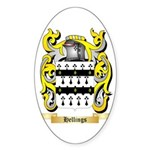 Hellings Sticker (Oval 50 pk)