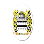 Hellings 35x21 Oval Wall Decal