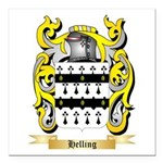 Helling Square Car Magnet 3