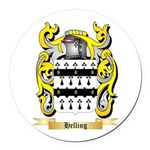 Helling Round Car Magnet