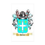 Hellier Sticker (Rectangle 10 pk)