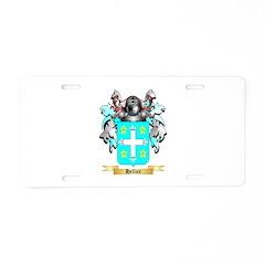 Hellier Aluminum License Plate