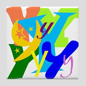 Initial Design (Y) Tile Coaster