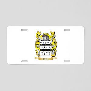 Hellen Aluminum License Plate