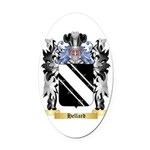 Hellard Oval Car Magnet