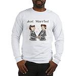 Gay Wedding 2 Grooms Long Sleeve T-Shirt