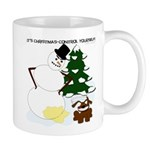 Christmas Yellow Snow Mug
