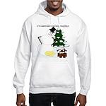 Christmas Yellow Snow Hooded Sweatshirt