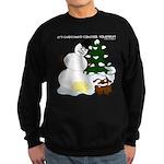 Christmas Yellow Snow Sweatshirt (dark)