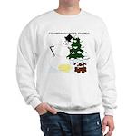 Christmas Yellow Snow Sweatshirt