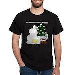 Christmas Yellow Snow Dark T-Shirt