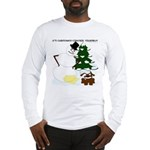 Christmas Yellow Snow Long Sleeve T-Shirt