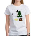 Christmas Yellow Snow Women's T-Shirt