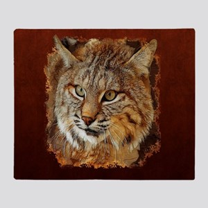 Bobcat Throw Blanket