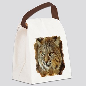Bobcat Canvas Lunch Bag