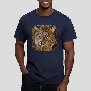 Bobcat Men's Fitted T-Shirt (dark)