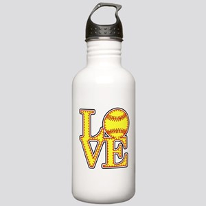 LOVE SOFTBALL STITCH P Stainless Water Bottle 1.0L