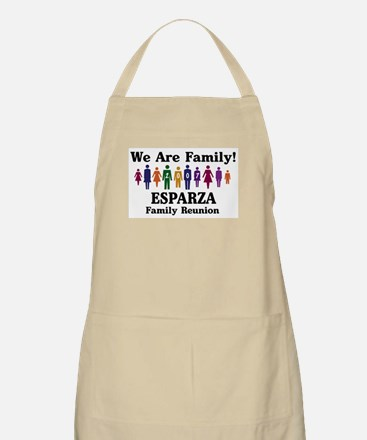 ESPARZA reunion (we are famil BBQ Apron