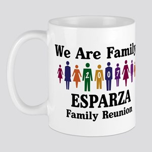 ESPARZA reunion (we are famil Mug
