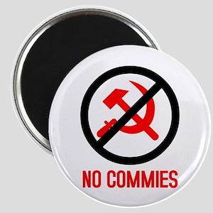 No Commies! Magnet