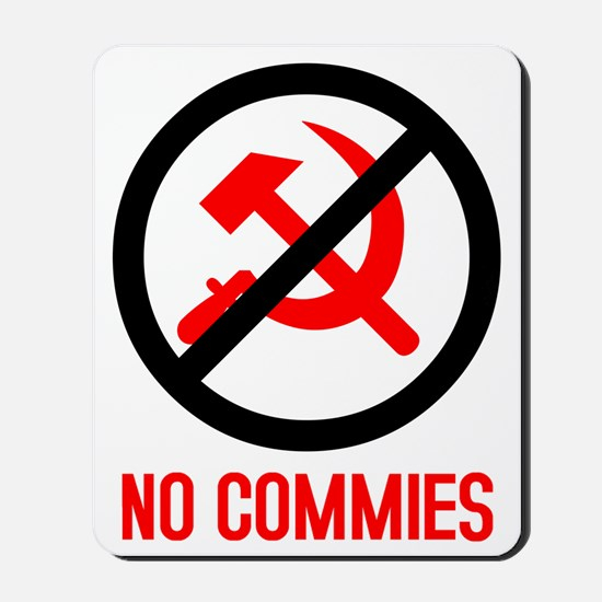 No Commies! Mousepad