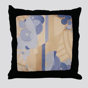 Art Deco Abstract Throw Pillow