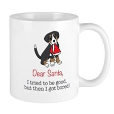 Dear Santa, I tried to be good! Mugs