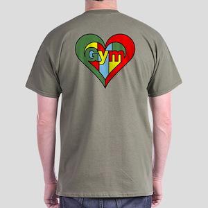 Gym Heart Dark T-Shirt