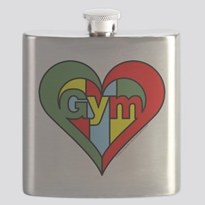 Gym Heart Flask