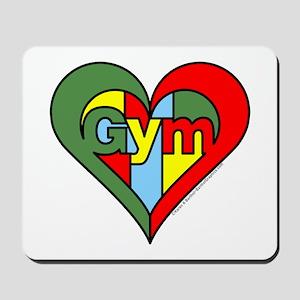 Gym Heart Mousepad