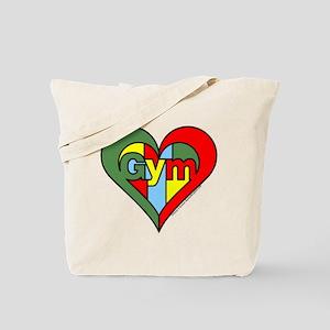 Gym Heart Tote Bag