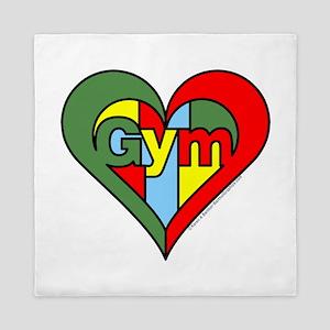 Gym Heart Queen Duvet