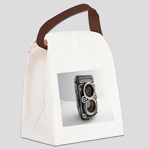 Vintage Camera Canvas Lunch Bag