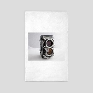 Vintage Camera Area Rug