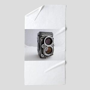 Vintage Camera Beach Towel
