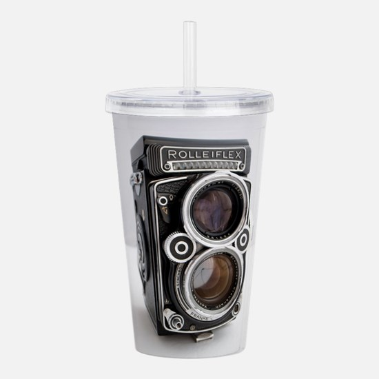 Vintage Camera Acrylic Double-wall Tumbler