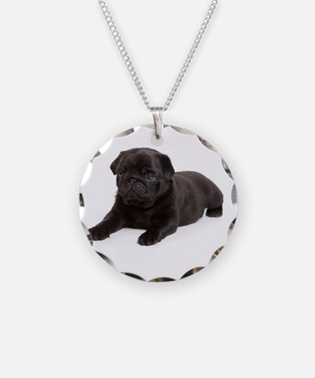 Black Pug Necklace