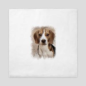 Beagle Hound Queen Duvet