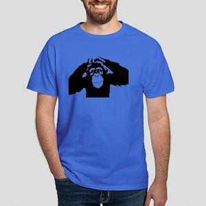 Chimpanzee Icon Dark T-Shirt