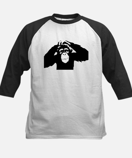 Chimpanzee Icon Kids Baseball Jersey