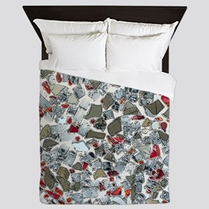 Art Deco Confetti Queen Duvet