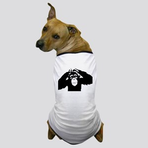 Chimpanzee Icon Dog T-Shirt