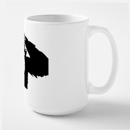 Chimpanzee Icon Large Mug