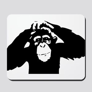Chimpanzee Icon Mousepad