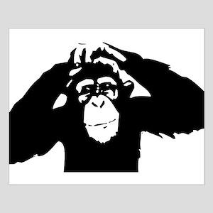 Chimpanzee Icon Small Poster